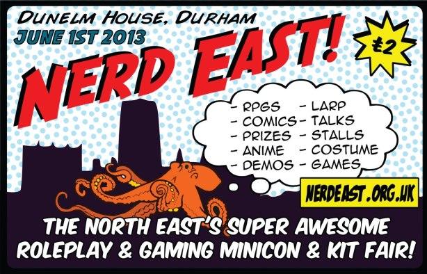 Nerd East 2013 flyer