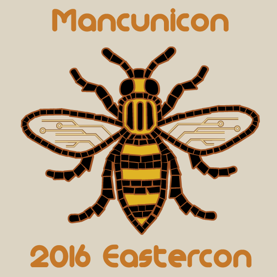 Mancunicon logo bee